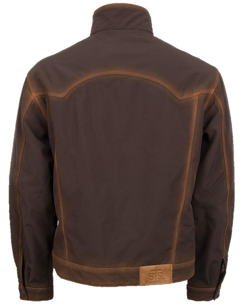 STS Ranchwear Men's Denim Cut Brumby Brown Jacket, Brown, hi-res