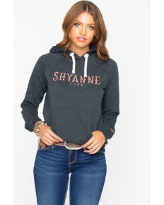 Shyanne Life Women's Pullover Hoodie , Charcoal, hi-res