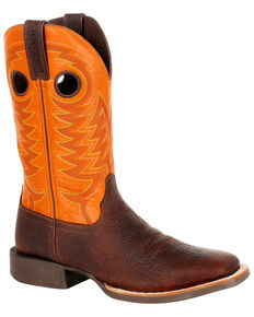Durango Men's Rebel Pro Western Boots - Square Toe, Brown, hi-res