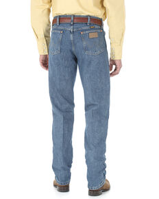 Wrangler Men's Pro Rodeo Roughstone Original Cowboy Cut Jeans - Long , No Color, hi-res