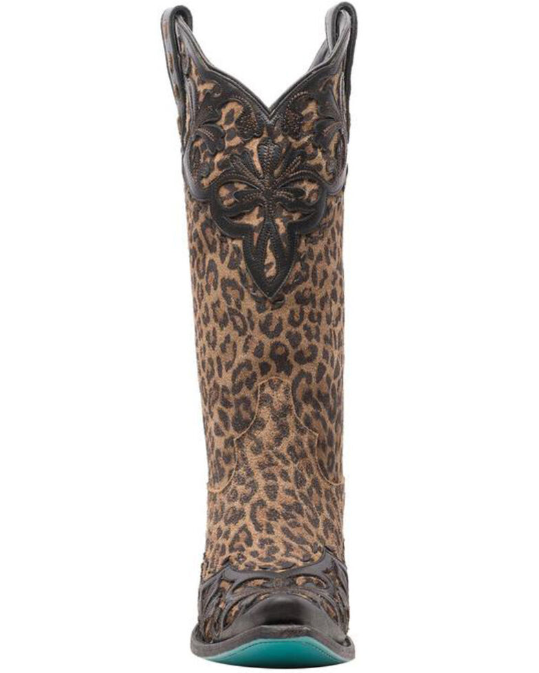Lane Women's Lilly Western Boots - Snip Toe, Black, hi-res