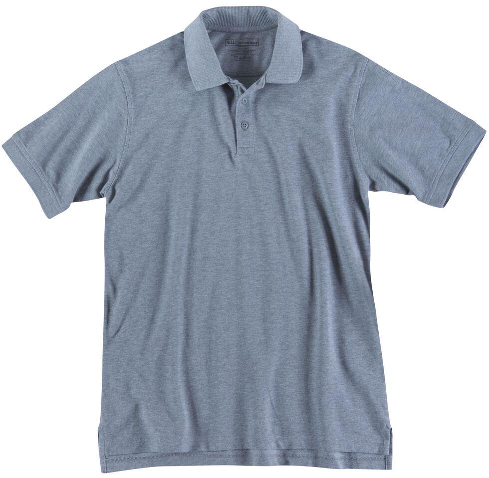 5.11 Tactical Professional Short Sleeve Polo Shirt - 3XL, Hthr Grey, hi-res
