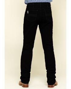 Cinch Men's Silver Label Black Slim Straight Jeans , Black, hi-res