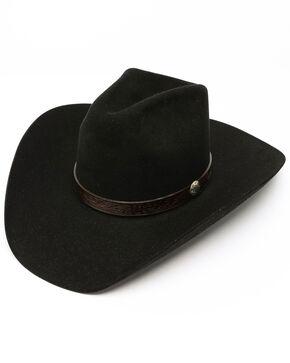 Stetson Bismark 6x Felt Hat, Black, hi-res