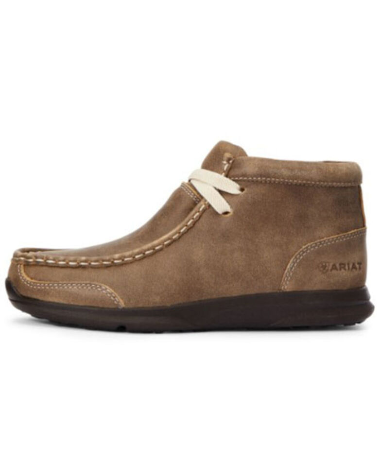 Ariat Boys' Spitfire Casual Shoes - Moc Toe, Brown, hi-res