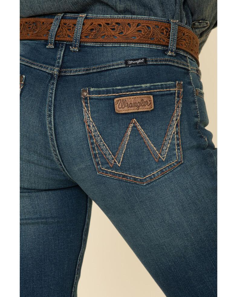 Wrangler Women's Ruth Bootcut Jeans, Blue, hi-res