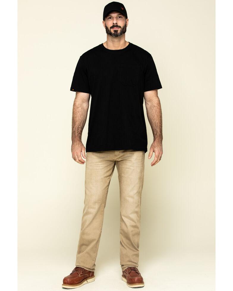 Wrangler Retro Men's Tan Stretch Slim Straight Jeans , Tan, hi-res