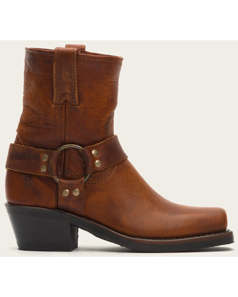 Frye Women's Harness 8R Boots - Square Toe , Cognac, hi-res