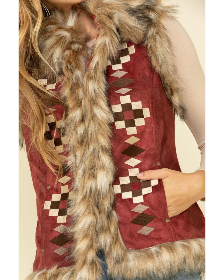 Tasha Polizzi Women's Chili Chateau Vest , Chilli, hi-res