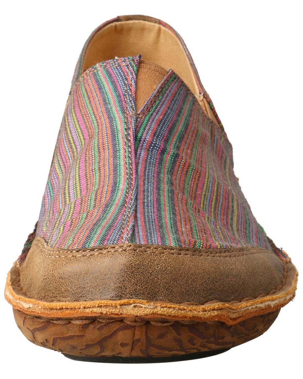 Twisted X Women's Leather Wrap Slip-On Shoes - Moc Toe, Multi, hi-res