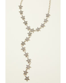 Idyllwind Women's Star In The Night Drop Necklace, Silver, hi-res
