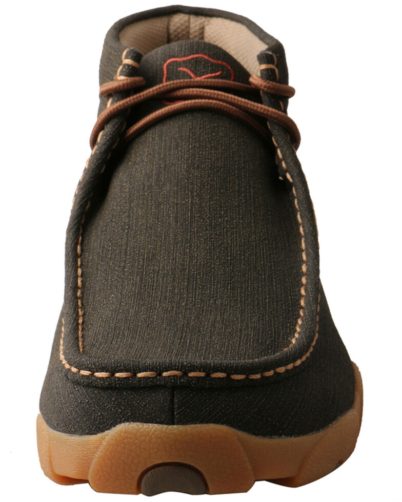 Twisted X Men's Rubberized Chukka Shoes, Brown, hi-res
