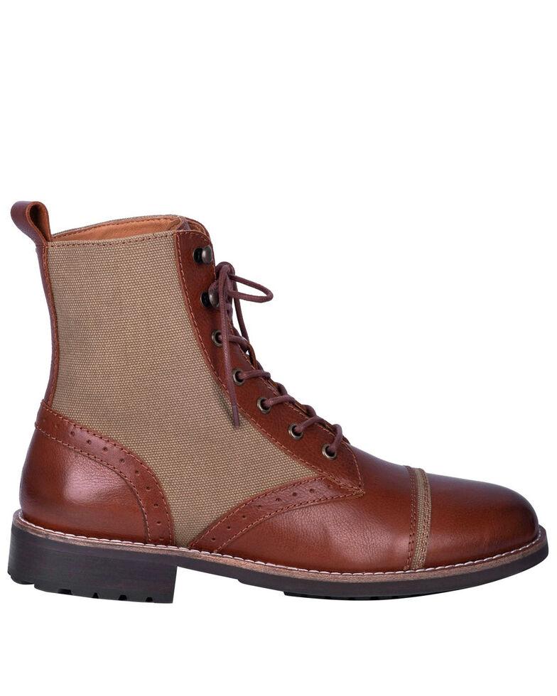 Dingo Men's Andy Lace Boots - Round toe, Brown, hi-res