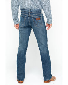 Wrangler Retro Men's Layton Slim Fit Bootcut Jeans, Denim, hi-res