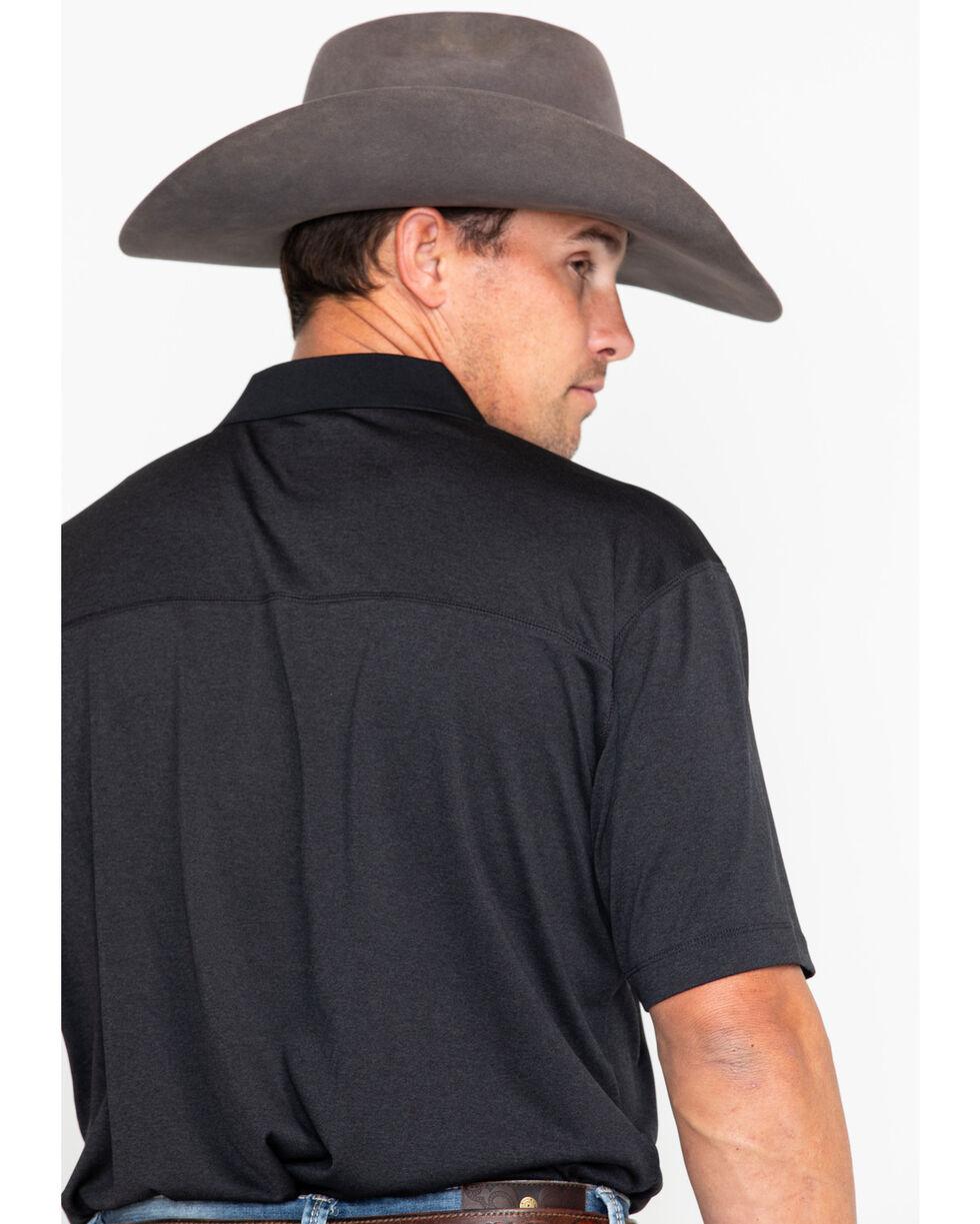 Cody James Short Sleeve Tech Polo, Black, hi-res