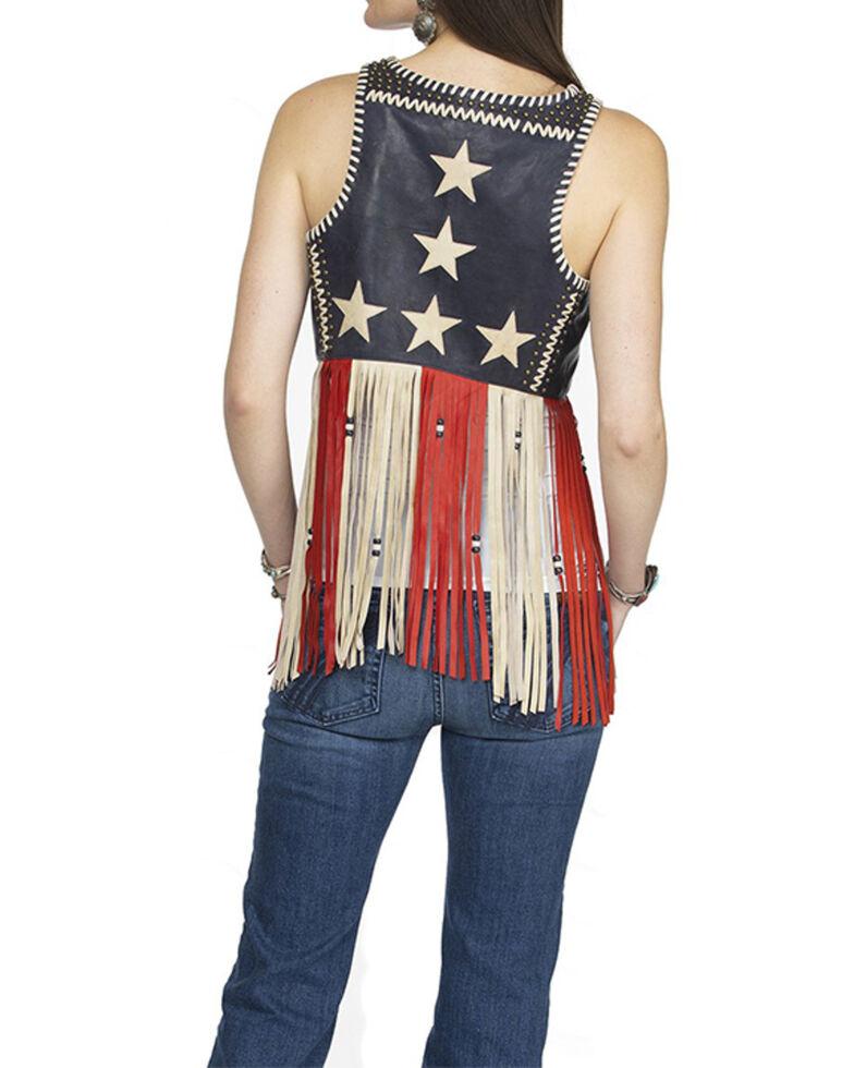 Double D Ranch Women's One Nation Vest , Multi, hi-res