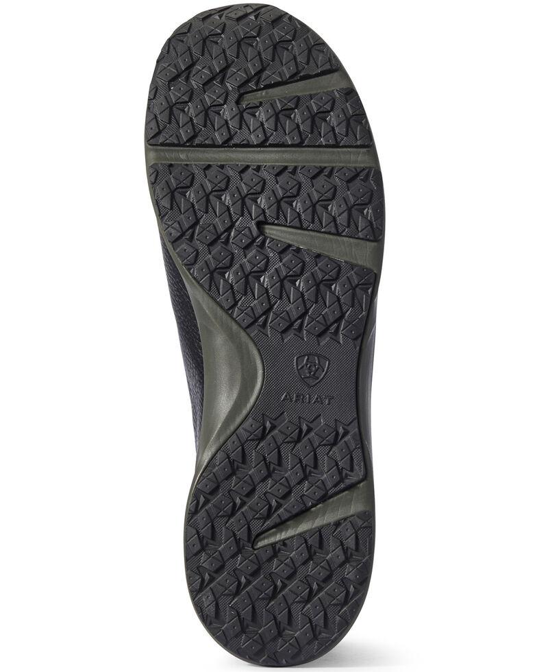 Ariat Men's Spitfire Black Lace-Up Boots - Moc Toe, Black, hi-res