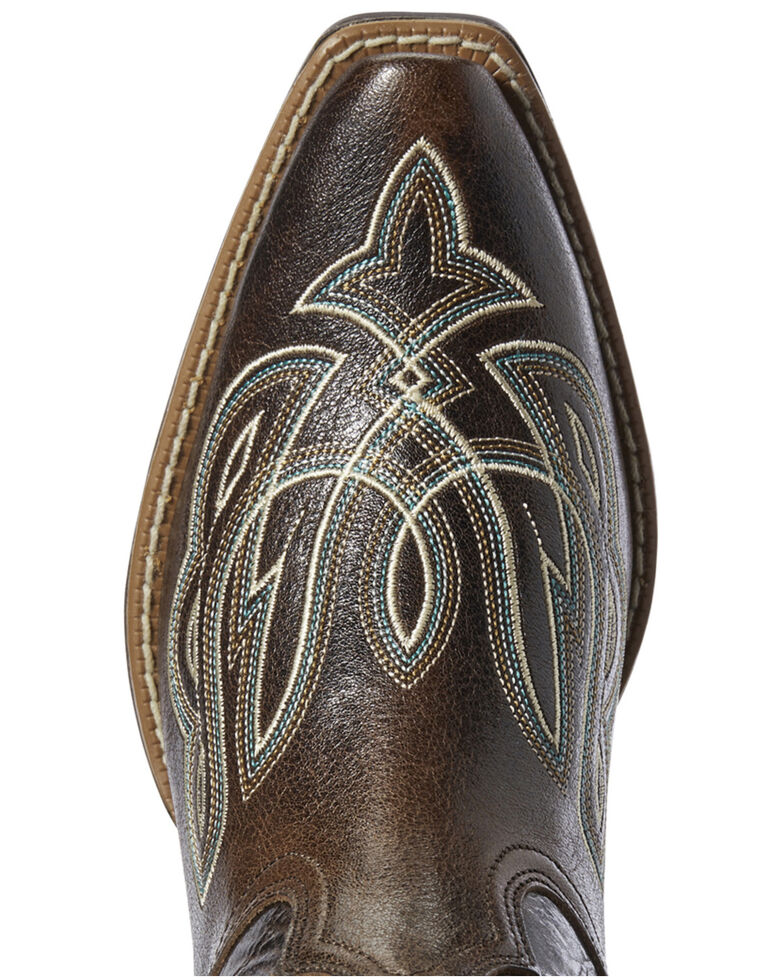 Ariat Women's Mirabelle Western Boots - Snip Toe, Brown, hi-res