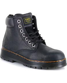 Dr. Marten Men's Winch Wyoming Work Boots - Steel Toe, Black, hi-res