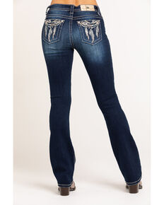 Miss Me Women's Dream Catcher Bootcut Jeans, Blue, hi-res