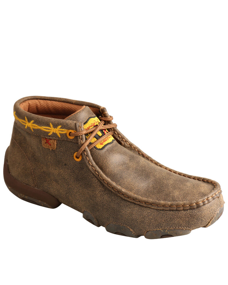 Twisted X Women's Driving Moc Shoes - Moc Toe, Brown, hi-res