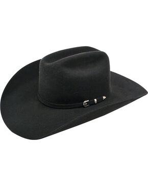 Ariat 3X Wool Felt Cowboy Hat, Black, hi-res