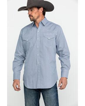 Ely Cattleman Men's Multi Ditzy Print Long Sleeve Western Shirt , Multi, hi-res