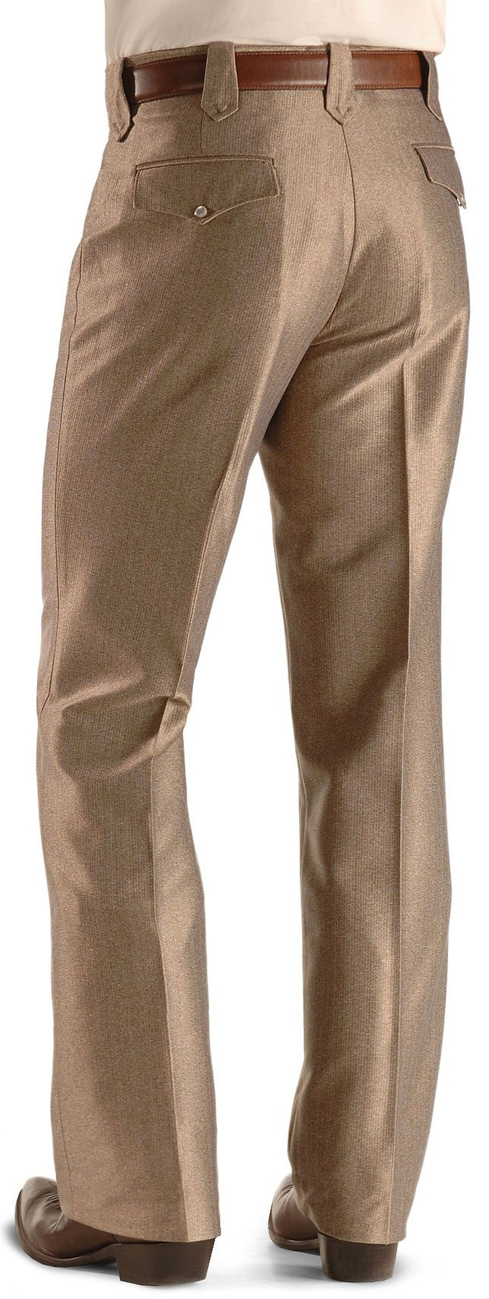 Circle S Boise Snap Dress Slacks, Khaki, hi-res