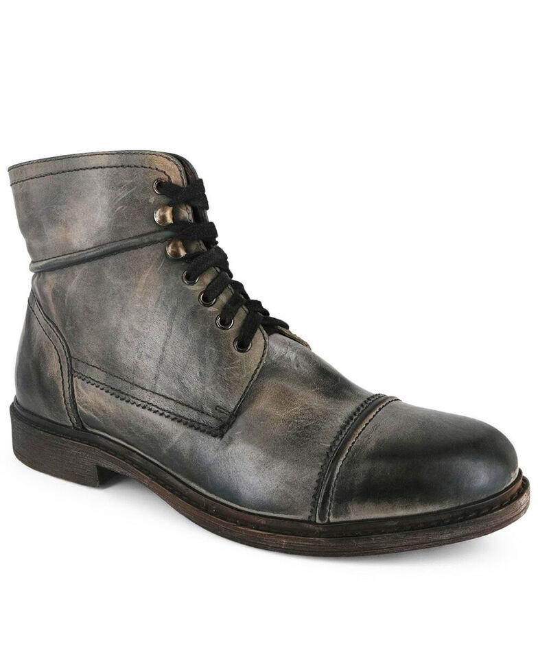 Evolutions Men's Trey Lace-Up Work Boots - Soft Toe, Grey, hi-res