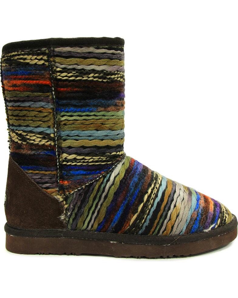"""Lamo Women's 9"""" Juarez Boots, Chocolate, hi-res"""