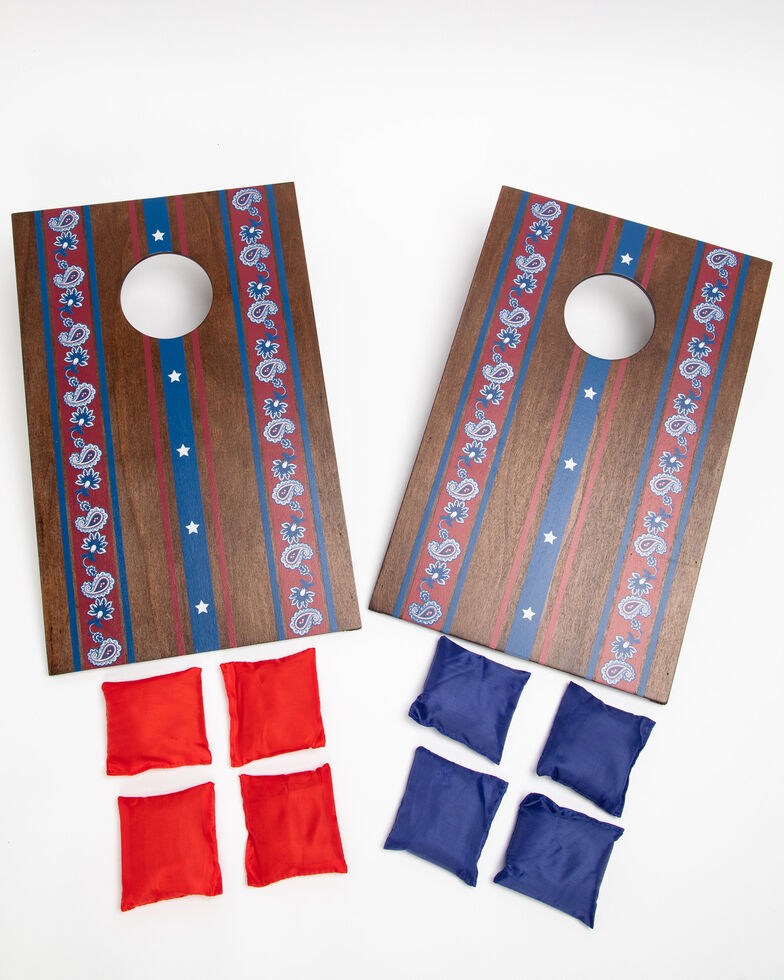 Boot Barn Ranch Americana Tabletop Corn Hole Game Set , Multi, hi-res