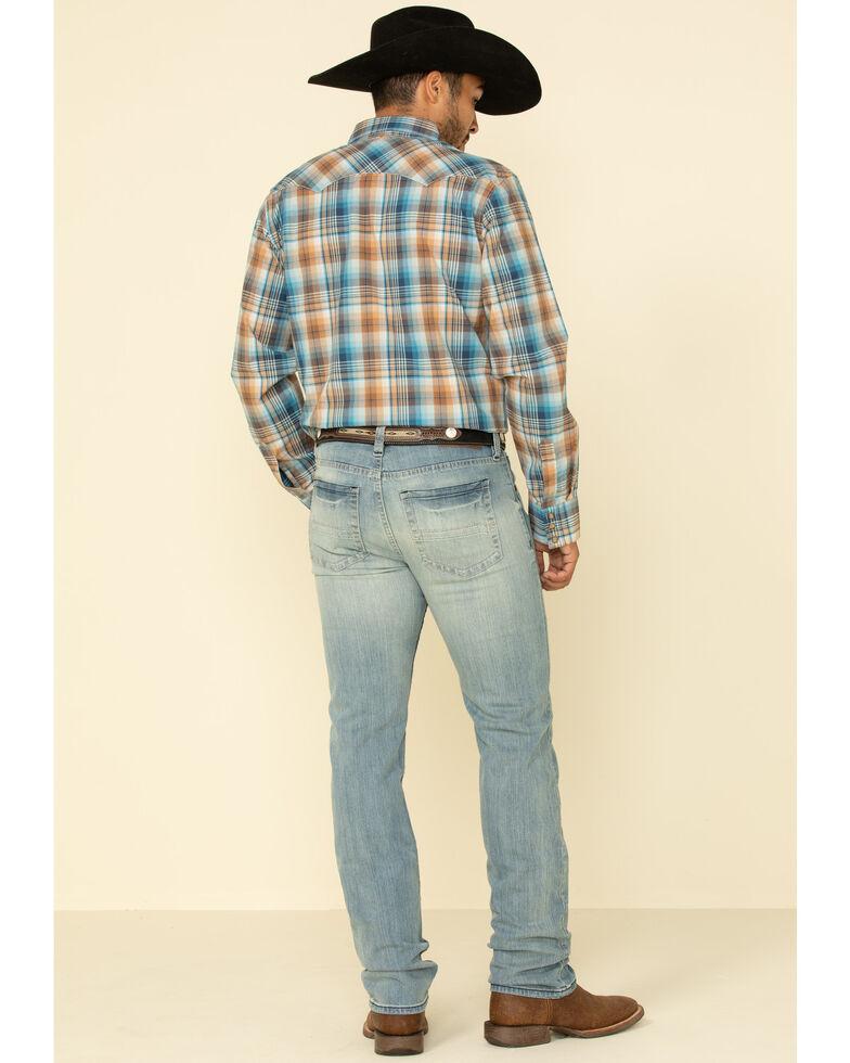 Cody James Men's Crupper Light Wash Stretch Slim Straight Jeans , Blue, hi-res