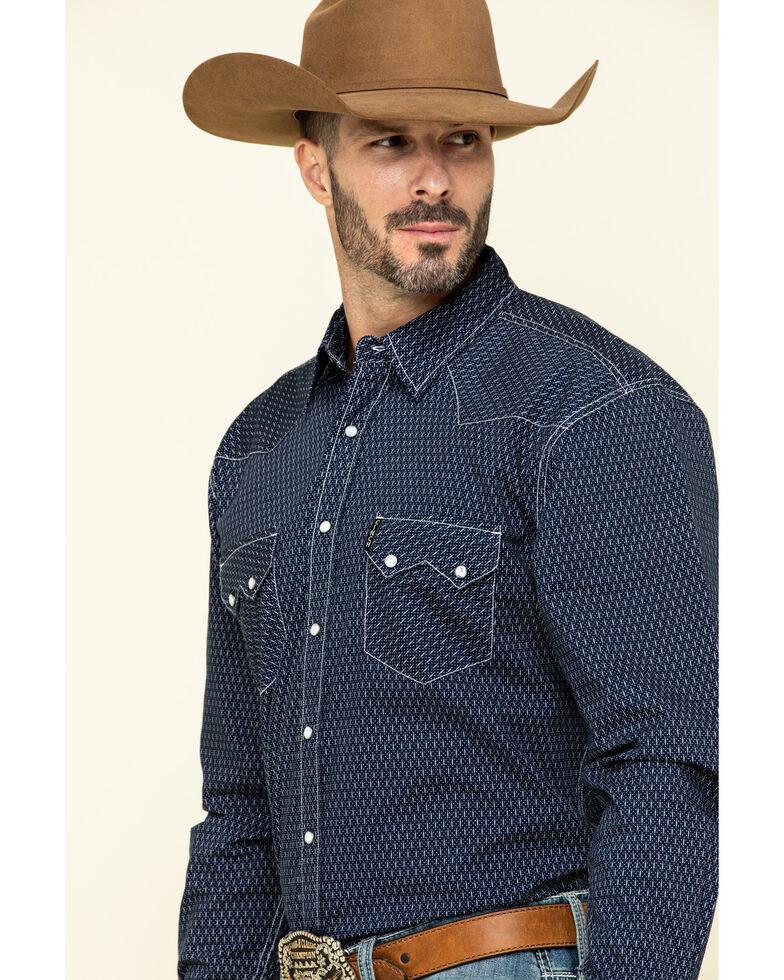 Cinch Men's Modern Fit Multi Dot Geo Print Long Sleeve Western Shirt , Multi, hi-res