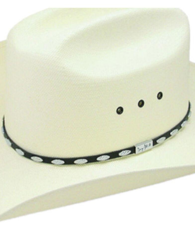 Resistol By George Strait Men's Silver Eagle Straw Cowboy Hat, Natural, hi-res