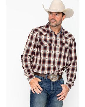 Cody James Men's Fort Yukon Long Sleeve Western Shirt - Big & Tall, Blue, hi-res