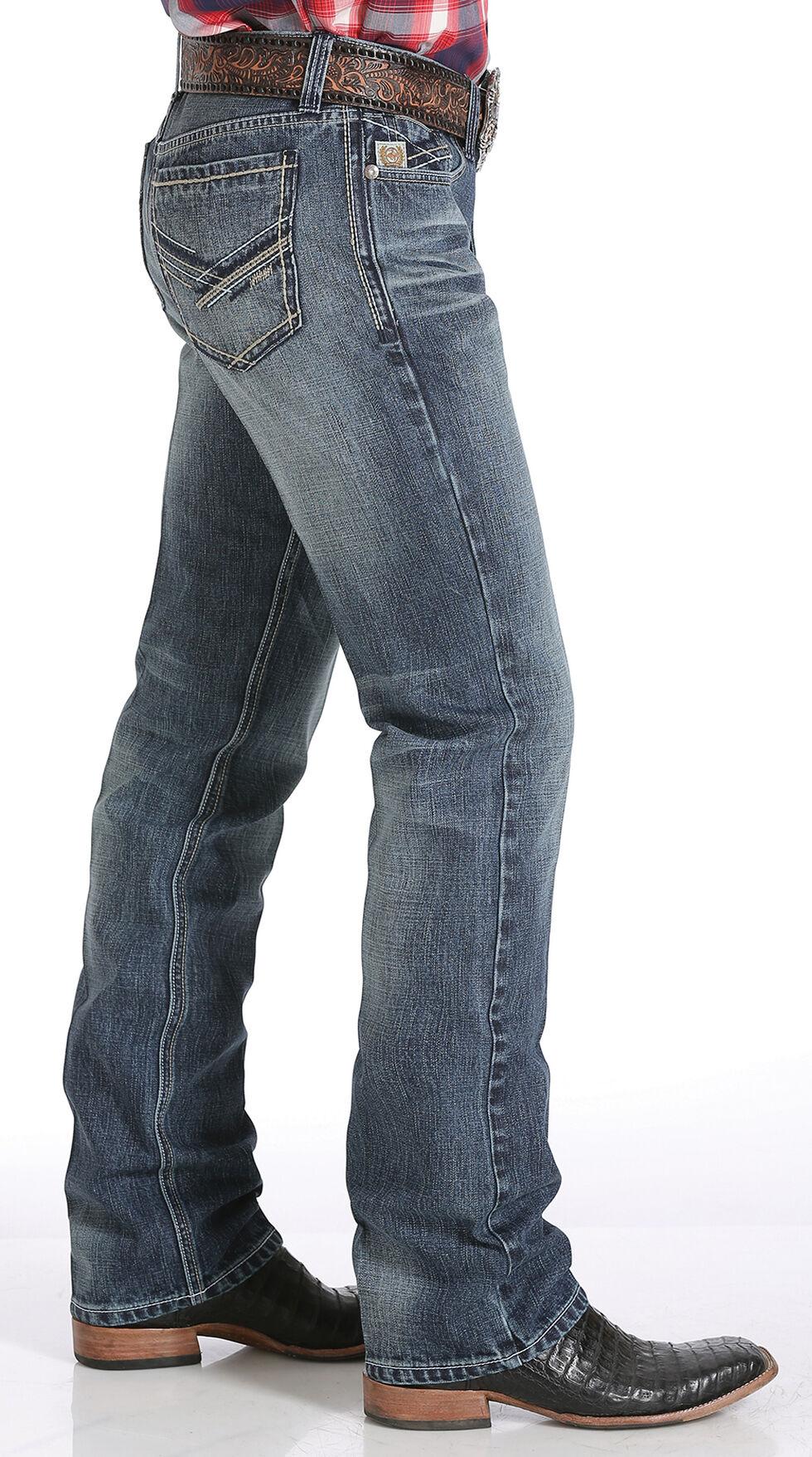 Cinch Ian Slim Fit Jeans - Boot Cut , Denim, hi-res