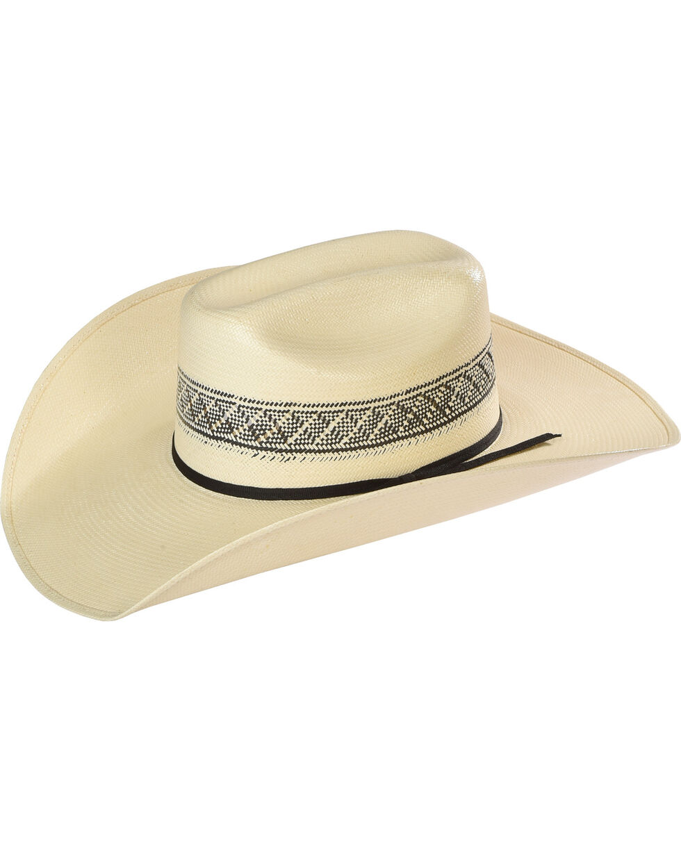 Resistol Men's Wildfire K Promo Straw Cowboy Hat, Natural, hi-res