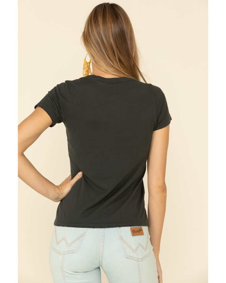 Bandit Women's Eagle Call Me The Breeze Graphic T-Shirt , Black, hi-res