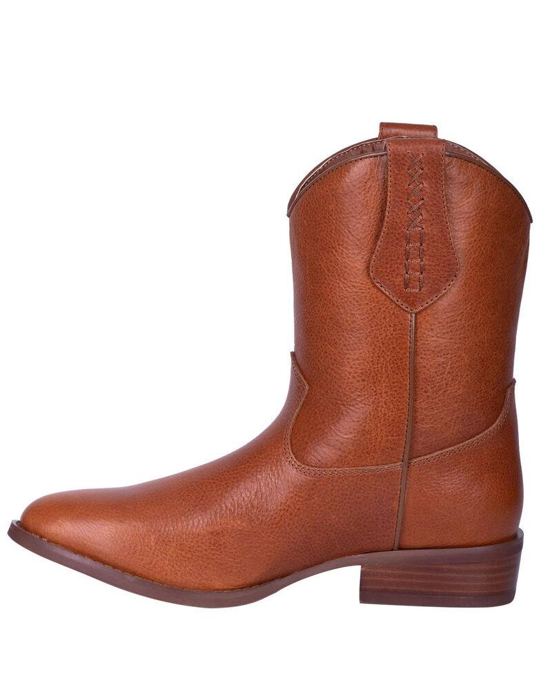 Dingo Men's Lefty Western Boots - Round Toe, Brown, hi-res