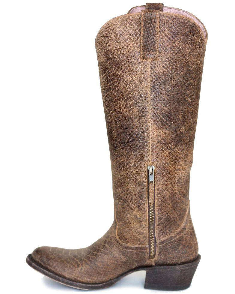 Miss Macie Women's Eden Western Boots - Round Toe, Brown, hi-res