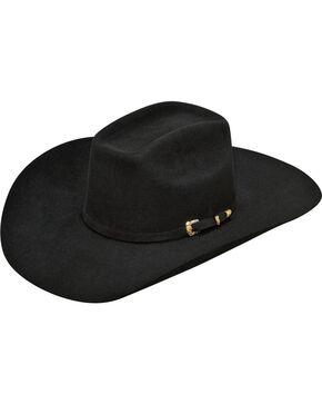Ariat Men's Wool Cowboy Hat, Black, hi-res
