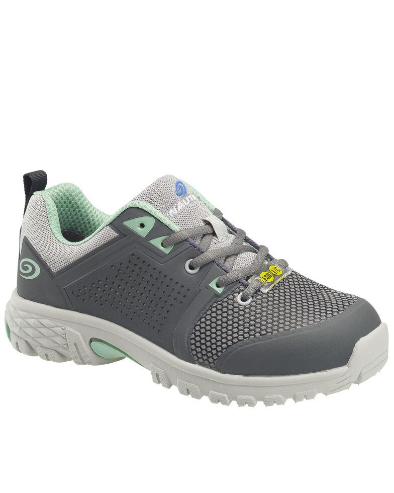 Nautilus Women's Zephyr Work Shoes - Composite Toe, Grey, hi-res