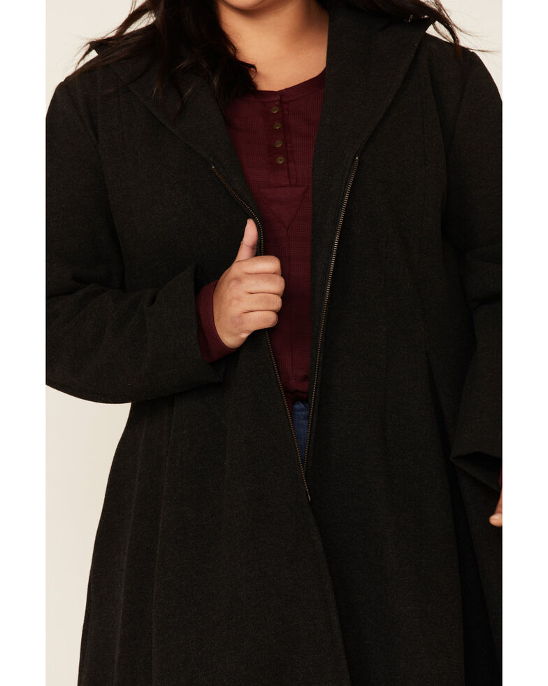 Outback Trading Co. Women's Charcoal Clare Jacket - Plus, Grey, hi-res