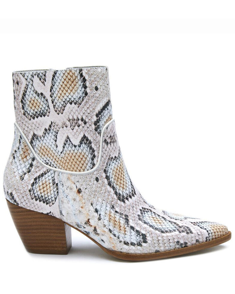 Matisse Women's Amore Fashion Booties - Pointed Toe, White, hi-res