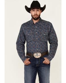 Cinch Men's Modern Fit Multi Paisley Print Long Sleeve Snap Western Shirt , Multi, hi-res