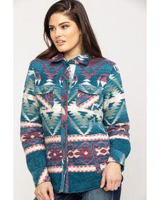 Ariat Women's R.E.A.L. Serape Shacket Shirt Jacket , Multi, hi-res