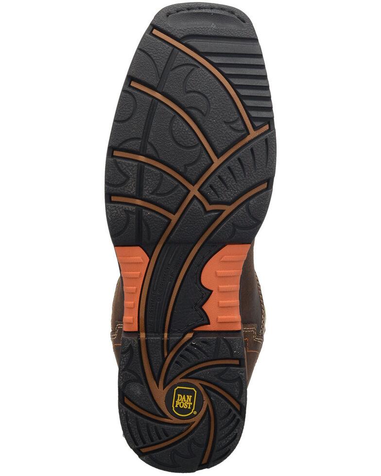 Dan Post Men's Storm Tide Waterproof Work Boots - Broad Square Toe , Ivory, hi-res