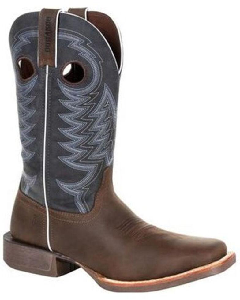 Durango Men's Rebel Pro Denim Blue Western Boots - Square Toe, Brown, hi-res