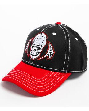 Cowboy Hardware Men's Crude Skull Rig Cap, Black, hi-res