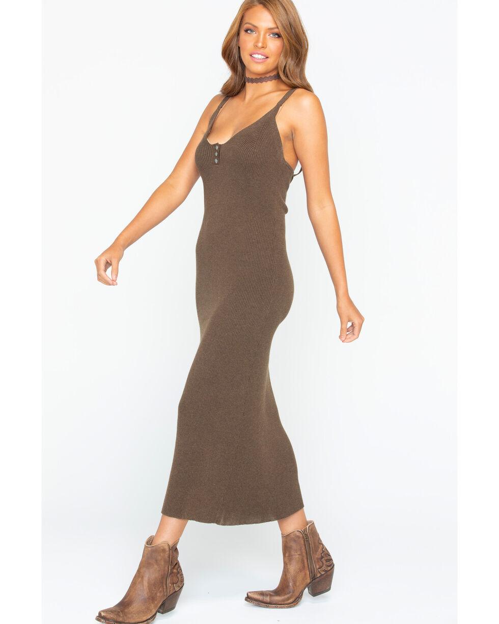 Tasha Polizzi Women's Helena Dress , Brown, hi-res